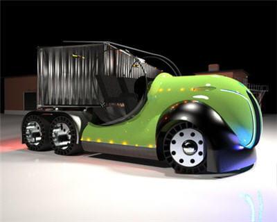la cabine transparente risque de limiter la personnalisation du camion par son
