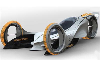 véhicule futuriste