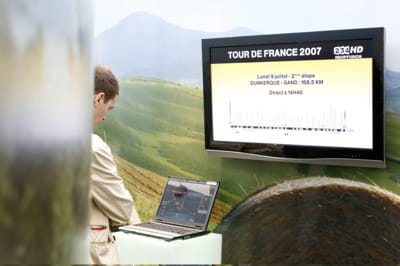le tour de france est retransmis en hd sur la tv d'orange