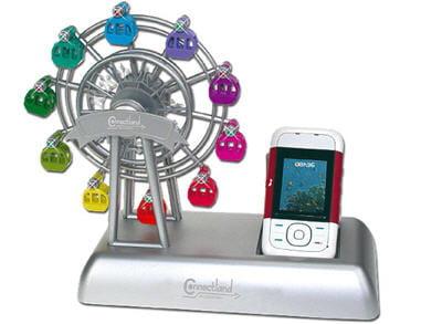 cette grande roue vous avertira si votre téléphone portable reçoit un appel.