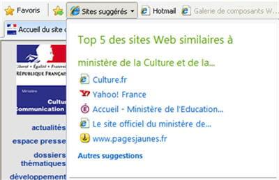 ici, sur le site du ministère de la culture, on nous propose de nous rendre sur