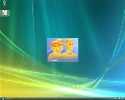 copie d'écran du bureau virtuel ulteo