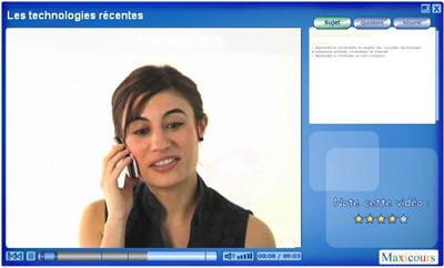 cours d'anglais en vidéo