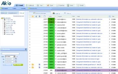 la nouvelle interface permet aux conseillers de faciliter le suivi des demandes
