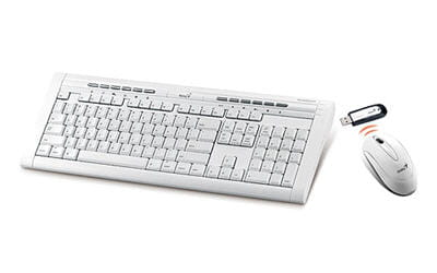 un ensemble clavier / souris réservé aux possesseurs de mac