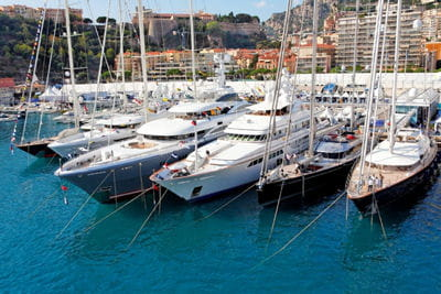l'italie est le premier constructeur mondial de yachts de luxe.