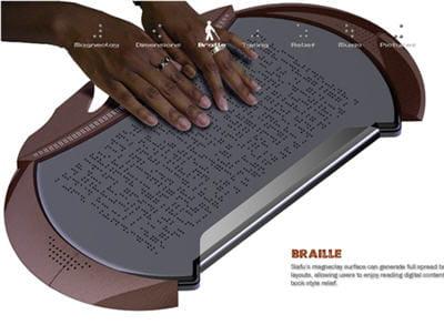 on pourra bientôt lire les sites de l'internaute ou le journal du net en braille