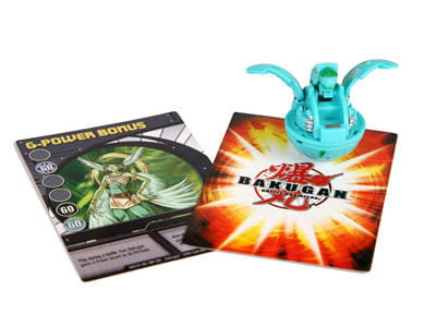 jeu de carte et figurines bakugan