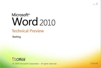 le nouveau logo de word 2010