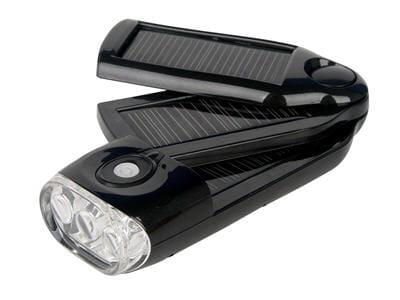 lampe torche et chargeur solaire