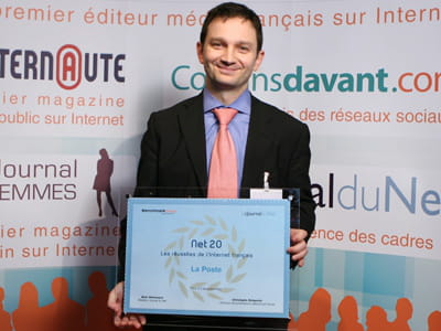 marc pontet, directeur marketing et commercial du courrier du groupe la poste.