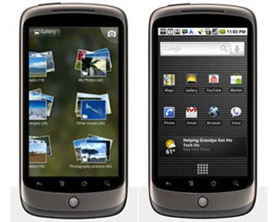 belle puissance et android 2.1 : le nexus one semble trèsréactif