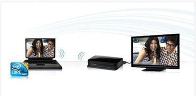 relier son pc portable et son téléviseur... sans fil