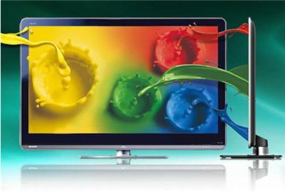 les nouveaux téléviseurs sharp ont 4 couleurs primaires : le jaune en plus
