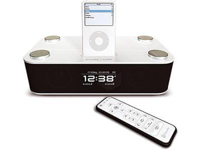 radio réveil pour ipod et iphone