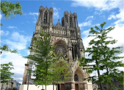 la cathédrale de reims.