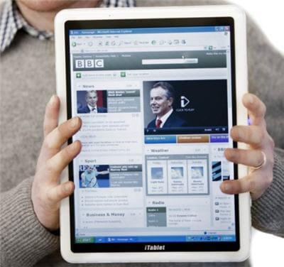 une tablette plus grande que les autres : la itablet