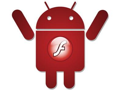 le flash arrive sous android...