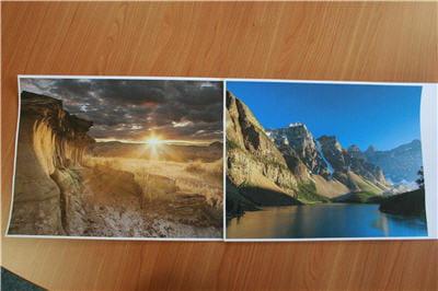 deux impressions photo a4 sur la lexmark s605