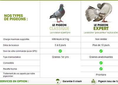 les pigeons livreurs de ldlc