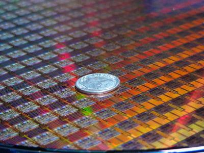 penryn, la dernière génération de processeurs de intel, gravée en 45 nanomètres.