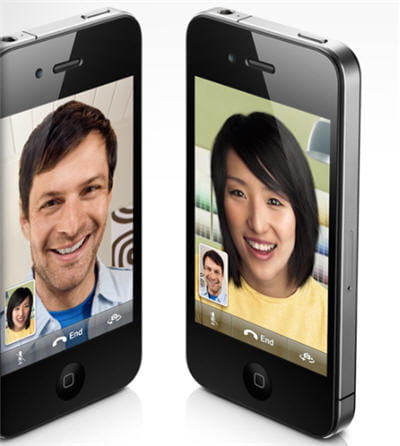 présentation de la visioconférence sur iphone via facetime