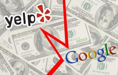 yelp a refusé l'offre de rachat de google