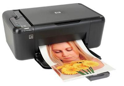 l'imprimante deskjet f4580