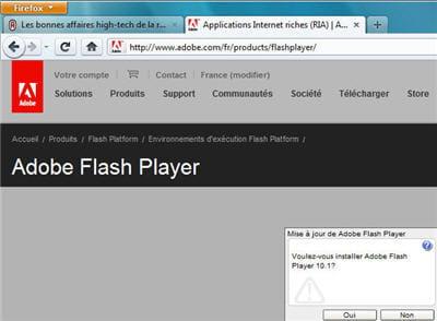 lancer une application flash ne relève plus du risque inconsidéré !