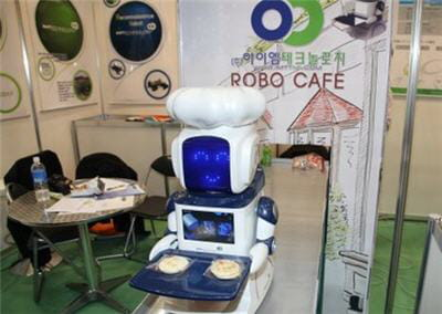 le robo cafe, un restaurant - vitrine technologique