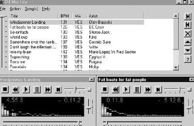le double lecteur avec mix automatique