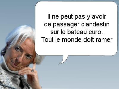 la ministre de l'économie française.