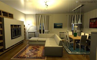 copie d'écran du logiciel proposé sur le site sweet home 3d.