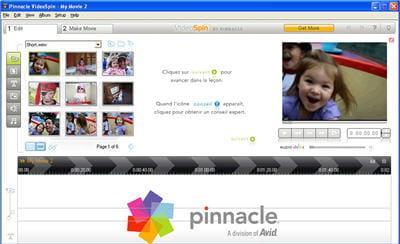 copie d'écran de la démonstration vidéo du logiciel disponible sur le site de