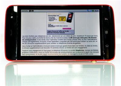 un article sur les forfaits mobiles les moins chers, publié sur la rubrique