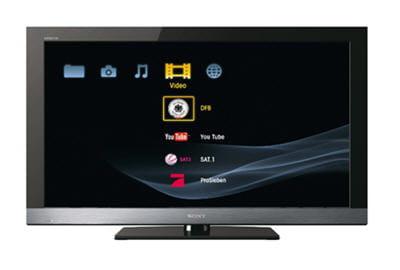le téléviseur sony kdl ex 500 46 pouces.