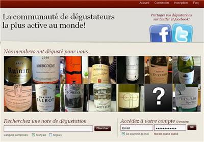 la base : une photo de chaque bouteille de vin qu'on goûte, et on le note