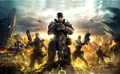 image officielle de gears of war 3