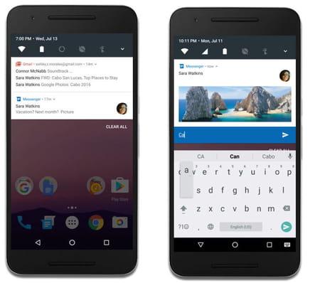 Android 7 0 nougat les nouveaut s retenir dci for Multi fenetre android