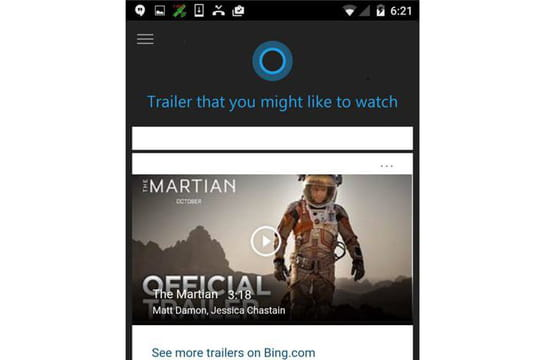 Cortana arrive sur Android