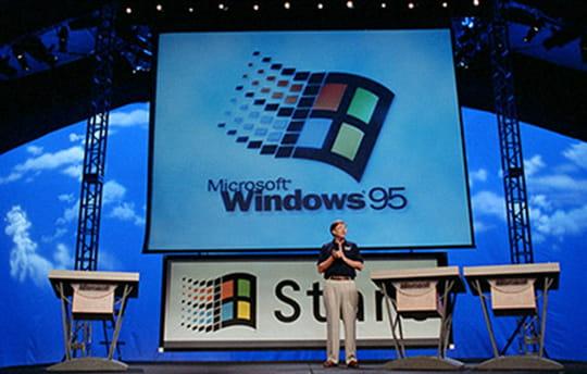 Windows 95 fête ses 20 ans