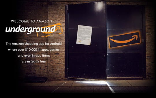 Avec Underground, Amazon va rendre une centaine d'applis Android 100% gratuites