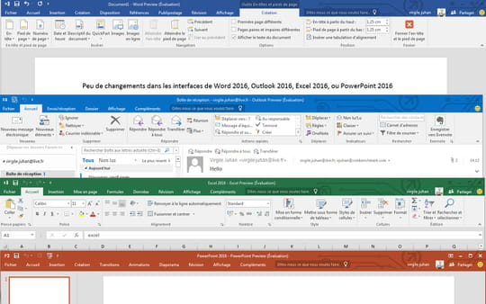 Office 2016 : la version finale le 22septembre