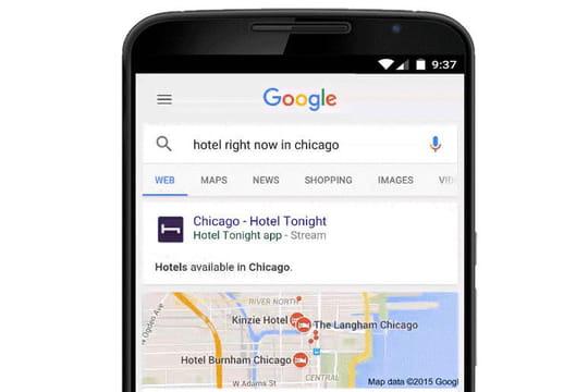 SEO : Google va faire remonter le contenu exclusif d'app non téléchargée