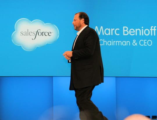Les résultats trimestriels de Salesforce s'envolent