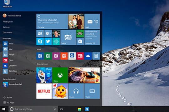 Windows 10 : 50% des entreprises devraient avoir amorcé une migration en janvier 2017
