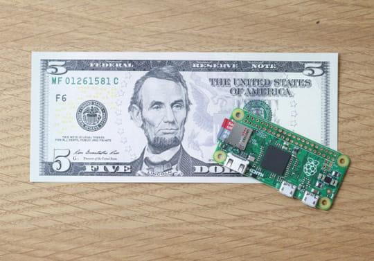 Raspberry Pi Zero: un ordinateur complet pour 5dollars