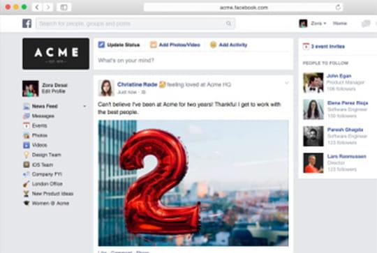 Les G.O. du Club Med bientôt sur Facebook at Work