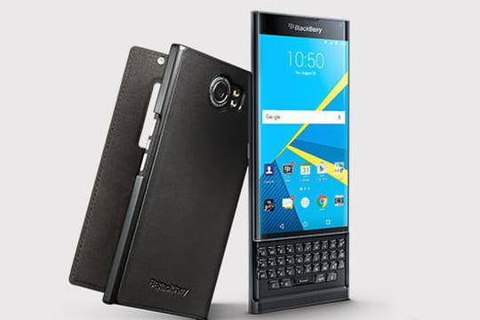 """Blackberry : le nouveau smartphone Android """"Priv"""" arrive en France"""