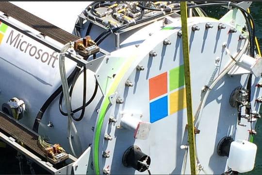 Microsoft teste un datacenter sous-marin